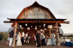 Barn Wedding - Colorado Wedding