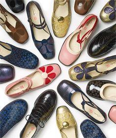 Orla Kiely for Clarks Collection Sock Shoes, Shoe Boots, Shoe Bag, 60s Shoes, Flat Shoes, 1960s Fashion, Vintage Fashion, Mod Fashion, Op Art