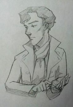 Sherlock Sketch by lexieken.
