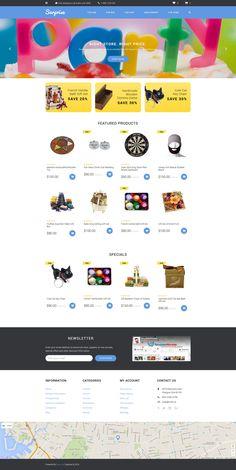 Surprise OpenCart Template - https://www.templatemonster.com/opencart-templates/58036.html