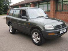 Toyota Rav, Big Wheel, Rav4, Automobile, Garage, Vehicles, Green, Ebay, Car