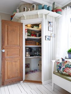 Corner Pantry Cupboard Ideas New Home Design at Interior Design House, Interior, Home, Corner Pantry, Home Remodeling, New Homes, Home Kitchens, Pantry Design, Corner Kitchen Pantry