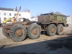 Фото: Седельный тягач МАЗ 537