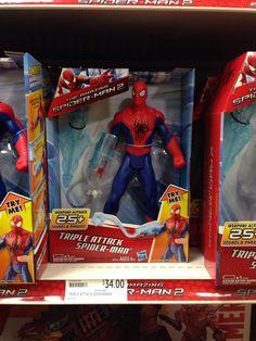 Spider man triple attack $34