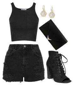 """""""Untitled #841"""" by gabbyriera on Polyvore featuring Topshop, Glamorous, Steve Madden, Trina Turk and Alexander Wang"""