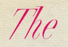 Nathan Godding, via Flickr   The, Lettering from an LP jacket.  The Silver Swan  1962