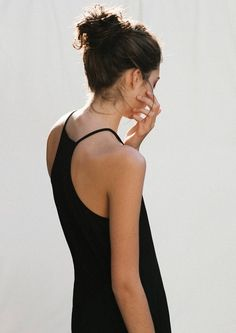 Black simple top
