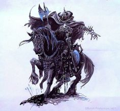 Ring wrath concept art for Ralph Bakshi film