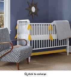 Annette Tatum Seersucker Nantucket Crib Set