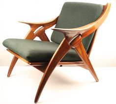 Mid Century Dutch Lounge Chairs set, circa 1950s by De Ster.