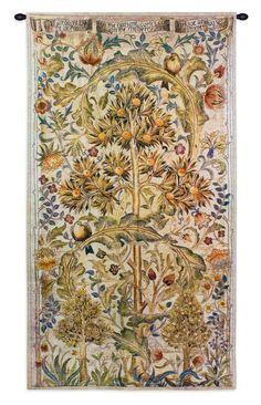 William Morris Quince Tree Tapestries