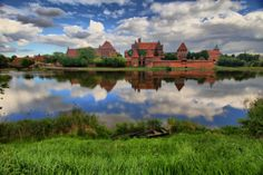 Love castles? This is a biggie - Malbork Castle in Poland, one of biggest castles worldwide! Home of Teutonic Knights.