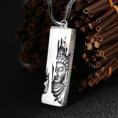 Mens Necklaces Bhuddist Necklace Mens Chains Mens Jewellery Mens Birthday Gifts Double Dorje Necklace Easter Gifts