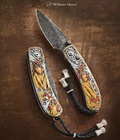 William Henry knife, come visit the show here in Beeville Tx 202 N Washington…