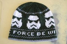 Storm Trooper hat by Sheila Stromberg. Free pattern!