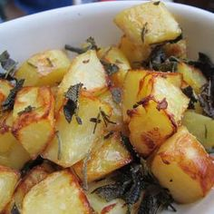 Tuscan Trattoria Potatoes- Comfort Food