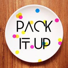 "P for Patterned Plate  ""Pack it Up"" Created a Patterned Plate for your Special Day!  Regular (SGD$8.90) -  23cm Diameter, Porcelain Large (SGD$10.90) -  27cm Diameter, Porcelain  * Soft Sponge Wash only   No Microwave   No Oven   No Dishwasher  ""Pack it Up"" make your Special day even more Special & Joyous!  All Prices are nett  PM us Now or in Facebook for any inquiries!  https://m.facebook.com/PforPackitup"