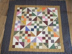Baby Quilt.  Machine quilted. Hand sewn by TheRetiredQuilt on Etsy, $49.00