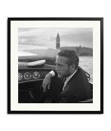 Wanddecoratie met Paul Newman in Venice - Wilhelmina Designs