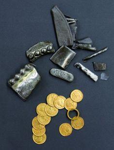 Archeologen ontdekken unieke Laat-Romeinse goudschat •De Erfgoedstem