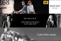 Flat 60% OFF on Calvin Klein, Sisley, CAT India & Globus Apparels at Myntra.com  #Discount #Brands #Myntra #Fashion #Apparels #Shopping #india #Discount