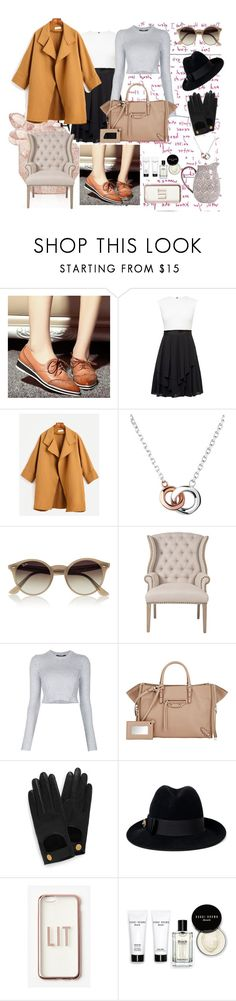 """Where are you are?????"" by ergulso ❤ liked on Polyvore featuring JY Shoes, Ted Baker, WithChic, Links of London, Ray-Ban, Orient Express Furniture, Derek Lam, Balenciaga, Mulberry and Gucci"