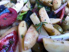 Pommes de terre aux légumes du Sud | funambul(in)e: Pommes de terre aux légumes du Sud