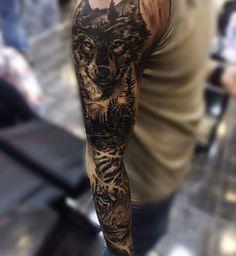 Sleeve in progress by Mert Mutluer