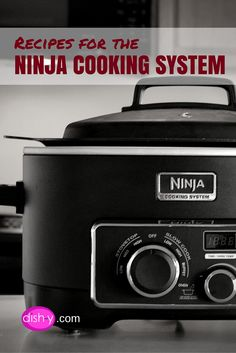 Recipes that are perfect for making in the Ninja Cooking System.