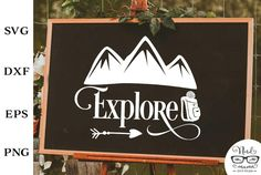 FREE Explore Cut File for Personal USE Adventure Quote   Etsy Mailbox Decals, All Silhouettes, Easter Quotes, Camping Signs, Farm Signs, Adventure Quotes, Silhouette Designer Edition, Cricut Explore, Be My Valentine