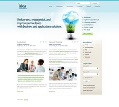 Business Ideas Flash Animated Joomla Template by Html5 Web Templates
