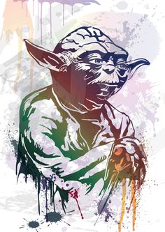 Vector STAR WARS - YODA Download files Digital graphical ai eps png pdf jpg (5.00 USD) by ColorVectors
