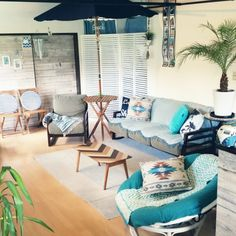 kimさんの、Lounge,古民家,パラソル,sea,いつもいいねありがとうございます♡,日本家屋,かべがみや本舗さん,BEACH STYLE,マリンスタイル,フォローして頂きありがとうございます!,ハワイも好き,West coast,BUS,和ビーチスタイルについての部屋写真