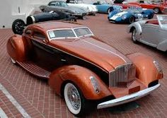 1934 Packard Boat Tail Coupe Myth