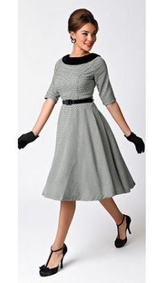 70 cute casual retro dresses inspired women's style (65)