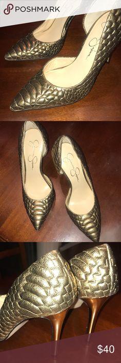 Bronzed Heels Jessica Simpson Heels Jessica Simpson Shoes Heels