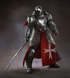 Heavy knight!  Definitely want to try to utilize this guy in a campaign.