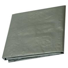7ft x 10ft Heavy Duty Silver Tarp by TarpsDirect. $8.40. Made of woven polyethylene, tarps are weather and tear resistant, UV lamination, heat-sealed seams, grommets, and reinforced edging with strong poly rope inside hem on four sides.