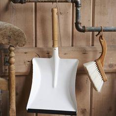 White Zinc Dustpan