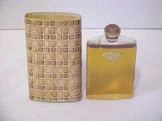 1920'S  Rare Vintage R Lalique PARIS JASMIN DE CORSE Coty Perfume Bottle SEALED