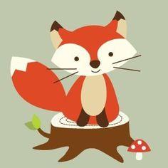 Our cute fox.
