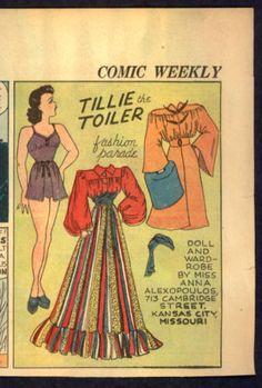1939-UNCUT-Tillie-the-Toiler-Newspaper-Paper-Doll-2264
