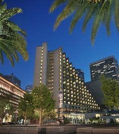san francisco hyatt regency building - oh so much fun - and awesome restaurant at the top
