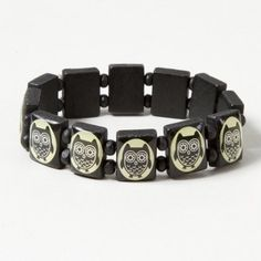 Owl Tile Bracelet