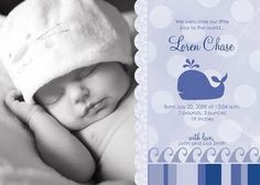 How to Make Your Own Baby Announcement Card