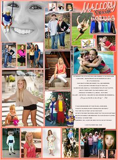 Kirsten Graves- I really like the design of this page and the way the pictures are layed out, This would be a good idea for parents senior ads Senior Yearbook Ideas, Senior Ads, Yearbook Layouts, Yearbook Design, Yearbook Pages, Yearbook Covers, Creative Senior Pictures, Senior Year Pictures, Graduation Pictures