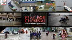 It's time to help each other. Let Humanity not die. Help each other when nature tests our integrity. To all those affected you are in our thoughts and Prayers. #prayforchennai #ChennaiRains #ChennaiRainsHelp
