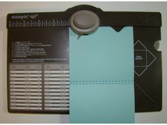 Envelope Punch Board Gift Card Holder - bjl