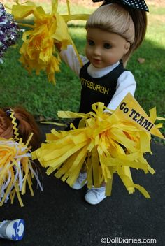 Oh yes, I Will be making a BSU Cheerleader outfit for her American Girl Doll and my sewing machines embroidery will be perfect on Doll sized clothes!!!