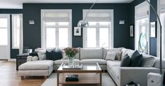 Who's Discussing Dark Brown Couch Living Room Ideas Color Schemes Grey Walls Home And Living, Brown Couch Living Room, Living Room Colors, Home Living Room, Couches Living Room, Living Room Color Schemes, Home, Apartment Living Room, Living Room Grey